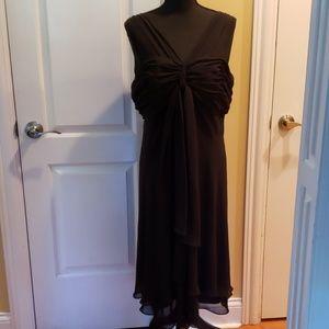 *New* Black sexy chiffon after five dress